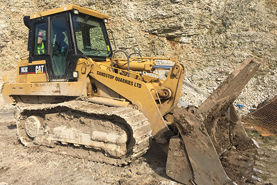 CAT 963c Tracked Shovel